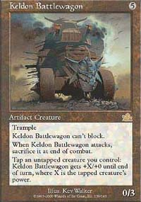 Keldon Battlewagon - Prophecy