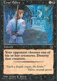 Cruel Edict - Portal Second Age