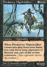 Predatory Nightstalker - Portal Second Age