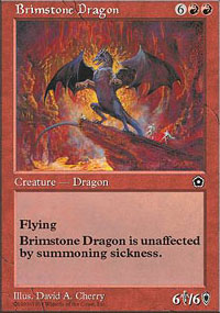 Brimstone Dragon - Portal Second Age