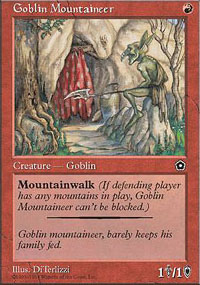 Goblin Mountaineer - Portal Second Age
