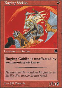 Raging Goblin - Portal Second Age