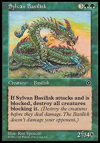 Sylvan Basilisk - Portal Second Age