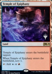 Temple of Epiphany - Planeswalker symbol stamped promos