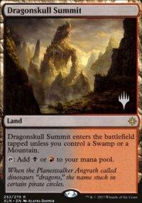 Dragonskull Summit - Planeswalker symbol stamped promos
