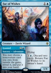 Fae of Wishes - Planeswalker symbol stamped promos