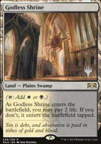 Godless Shrine - Planeswalker symbol stamped promos