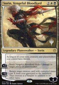 Sorin, Vengeful Bloodlord - Planeswalker symbol stamped promos