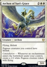 Archon of Sun's Grace - Planeswalker symbol stamped promos
