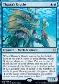 Thassa's Oracle - Planeswalker symbol stamped promos