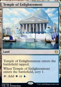 Temple of Enlightenment - Planeswalker symbol stamped promos