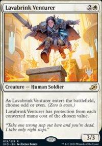 Lavabrink Venturer - Planeswalker symbol stamped promos