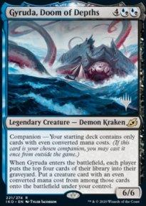 Gyruda, Doom of Depths - Planeswalker symbol stamped promos