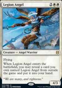 Legion Angel - Planeswalker symbol stamped promos