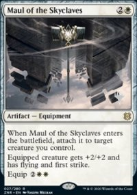 Maul of the Skyclaves - Planeswalker symbol stamped promos