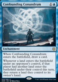 Confounding Conundrum - Planeswalker symbol stamped promos