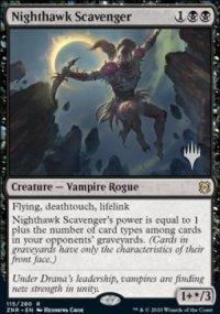 Nighthawk Scavenger - Planeswalker symbol stamped promos