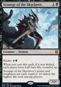 Scourge of the Skyclaves - Planeswalker symbol stamped promos