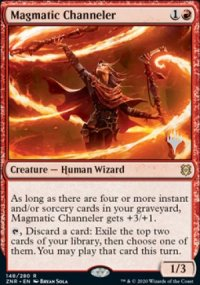 Magmatic Channeler - Planeswalker symbol stamped promos