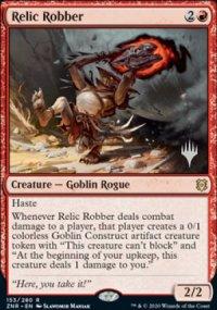 Relic Robber - Planeswalker symbol stamped promos