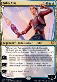 Niko Aris - Planeswalker symbol stamped promos