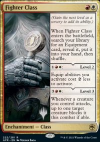 Fighter Class - Planeswalker symbol stamped promos
