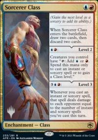 Sorcerer Class - Planeswalker symbol stamped promos