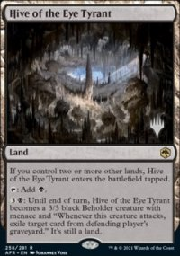 Hive of the Eye Tyrant - Planeswalker symbol stamped promos
