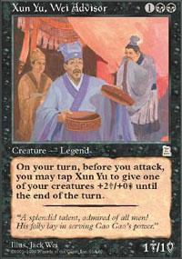 Xun Yu, Wei Advisor - Portal Three Kingdoms