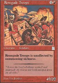 Renegade Troops - Portal Three Kingdoms