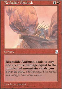 Rockslide Ambush - Portal Three Kingdoms