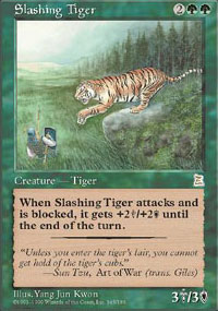 Slashing Tiger - Portal Three Kingdoms