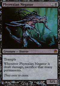 Phyrexian Negator - Phyrexia vs. The Coalition