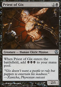 Priest of Gix - Phyrexia vs. The Coalition