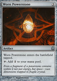 Worn Powerstone - Phyrexia vs. The Coalition