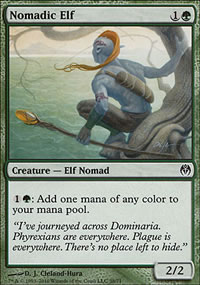 Nomadic Elf - Phyrexia vs. The Coalition