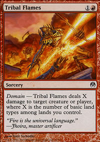 Tribal Flames - Phyrexia vs. The Coalition