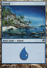 Island - Phyrexia vs. The Coalition