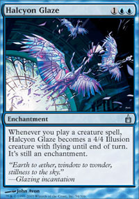 Halcyon Glaze - Ravnica: City of Guilds