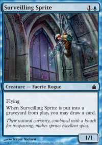 Surveilling Sprite - Ravnica: City of Guilds