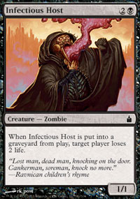 Infectious Host - Ravnica: City of Guilds