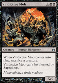 Vindictive Mob - Ravnica: City of Guilds