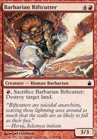 Barbarian Riftcutter - Ravnica