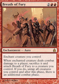 Breath of Fury - Ravnica: City of Guilds