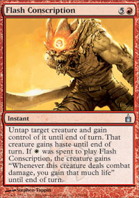Flash Conscription - Ravnica: City of Guilds