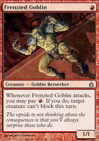 Frenzied Goblin - Ravnica