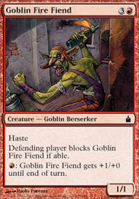 Goblin Fire Fiend - Ravnica: City of Guilds