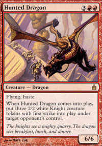 Hunted Dragon - Ravnica