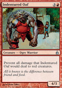 Indentured Oaf - Ravnica