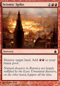 Seismic Spike - Ravnica: City of Guilds